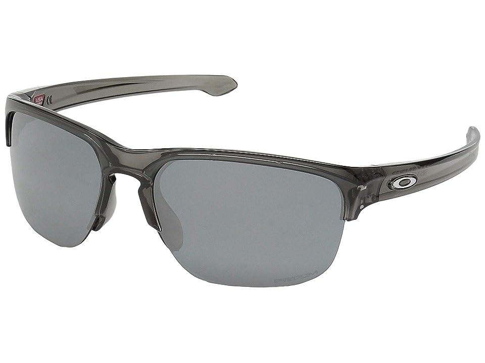 Oakley Sliver Edge (Grey Smoke w/ Prizm Black) Sport Sunglasses
