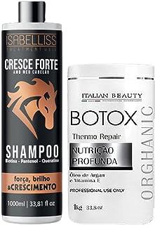 Kit Botox Orgânico Sem Formol Alisamento Profissional 2000ml