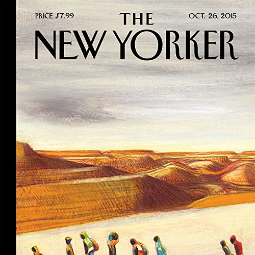 The New Yorker, October 26th 2015 (Nicholas Schmidle, Ryan Lizza, David Remnick) cover art