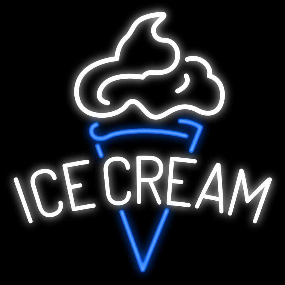 "New Ice Cream Cane Open Neon Light Sign 20/""x16/"" Beer Bar Lamp Open Sweet"