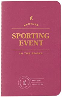 Sporting Event Passport Journal — Pocket-Sized Game Book by Letterfolk
