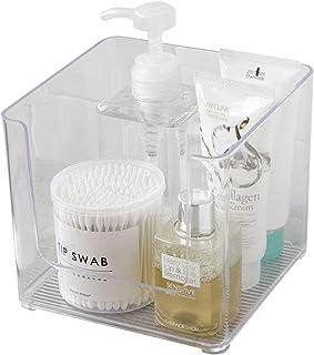 WeZest Creative multifunctional storage box Desktop Organizer Creative Cosmetic Storage Box Transparent Makeup Organizer W...