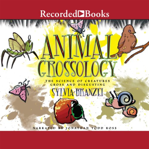 Animal Grossology audiobook cover art