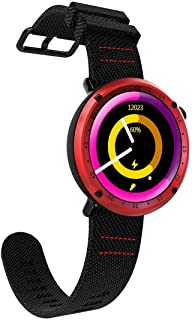 HUFAN L19 Sports Fitness Waterproof 1.3 inch TFT GPS Bluetooth Smart Watch with Heart Rate Monitor & Compass & Blood Pressure(Grey) (Color : Grey)