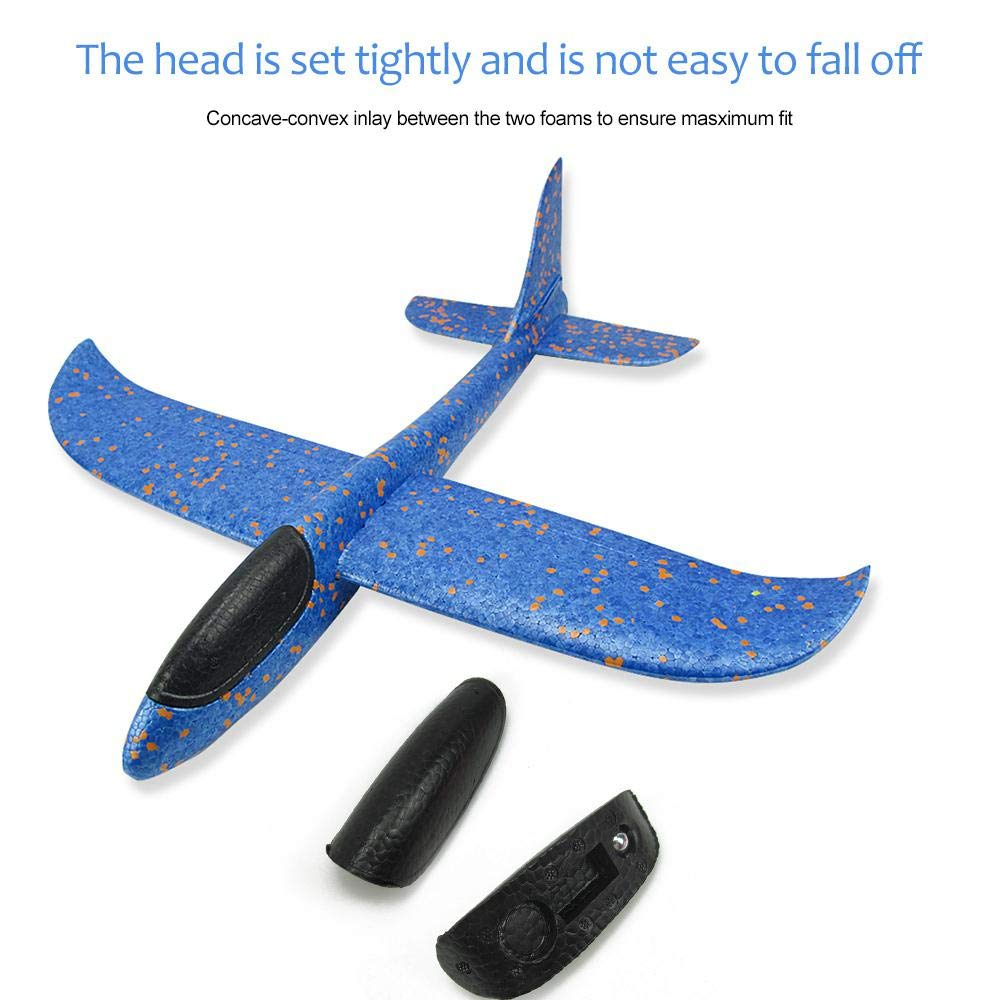 Womdee Aviones Planeadores, 2 Pack 17.5