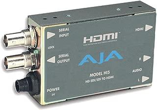 AJA Hi5 HD-SDI/SDI to HDMI Video and Audio Converter