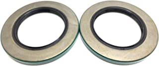 (Pack of 2) WPS Trailer Hub Wheel Grease Seal 10-10 (21333TB) for 5200-7000# Axles 2.125'' X 3.376''