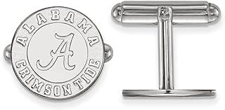 Alabama Cuff Links (Sterling Silver)
