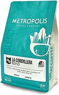 La Cordillera Blend, Metropolis Coffee 5lb bag, Whole Bean Coffee