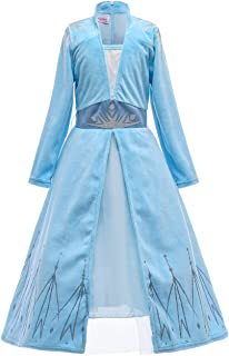 Es Unico Toddlers and Kids Girls Princess Dress Costume. Halloween Dress Up Clothes.