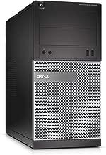 Dell 3020 Tower Core i7-4770 3.4GHz 16GB 512SSD DVD-RW Wi-Fi Win 10 Pro (Renewed)