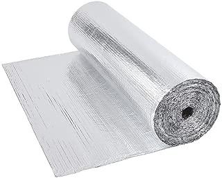 Biard - Rollo de Aislamiento Térmico Doble Lámina en Aluminio – Ideal para Suelos y Paredes - Rollo de 1.2 m x 40m - 200g por m2