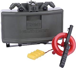 BOROK Inducción infrarroja Control Remoto Lanzador de granadas de Bomba de Bolas de Agua para Juegos de Nerf CS Airsoft