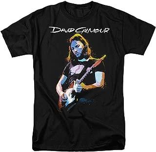 David Gilmour Pink Floyd Guitar T Shirt & Stickers
