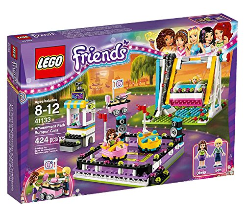 LEGO Friends Parque de Atracciones: Coches de Choque - Juegos de construcción (Multicolor, 8 año(s), 424 Pieza(s), Chica, 12 año(s), 2 Pieza(s))
