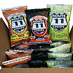 5 bags each of 3 flavors: Lightly Salted, Barbeque, and Sour Cream N Chives each bag contains 2 oz of delicious chips kettle cooked in small batches in our sustainable factory enjoy Lightly Salted's potato-ey goodness; the robust flavor of Barbeque; ...