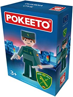 Pokeeto Guardia Civil Hombre, Multicolor, Talla Única (12609)