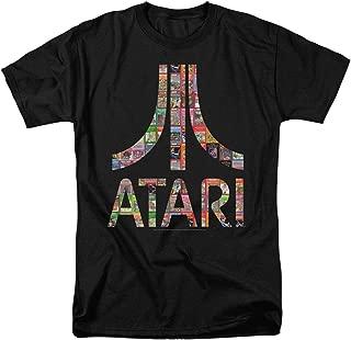 Atari Logo Retro Video Games Logo T Shirt & Stickers