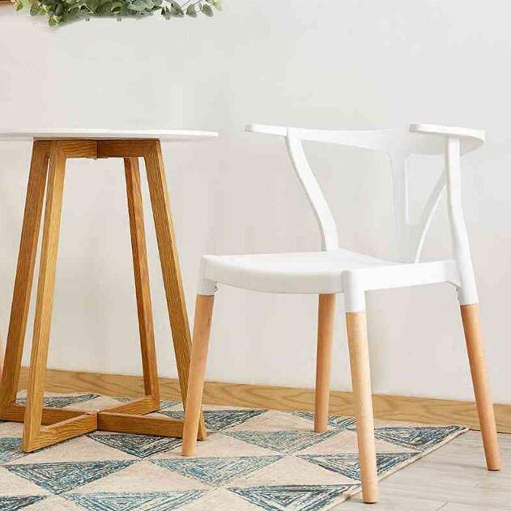 AJZGFChaise de salle à manger, chaise de cuisine Chaise à manger de mode, chaise de dossier en bois Chaise à café de discussion d'affaires (Color : D) A