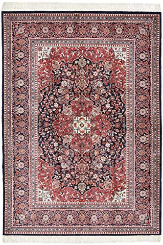 Nain Trading China Keshan Seide 236x163 Orientteppich Teppich Lila Handgeknüpft China