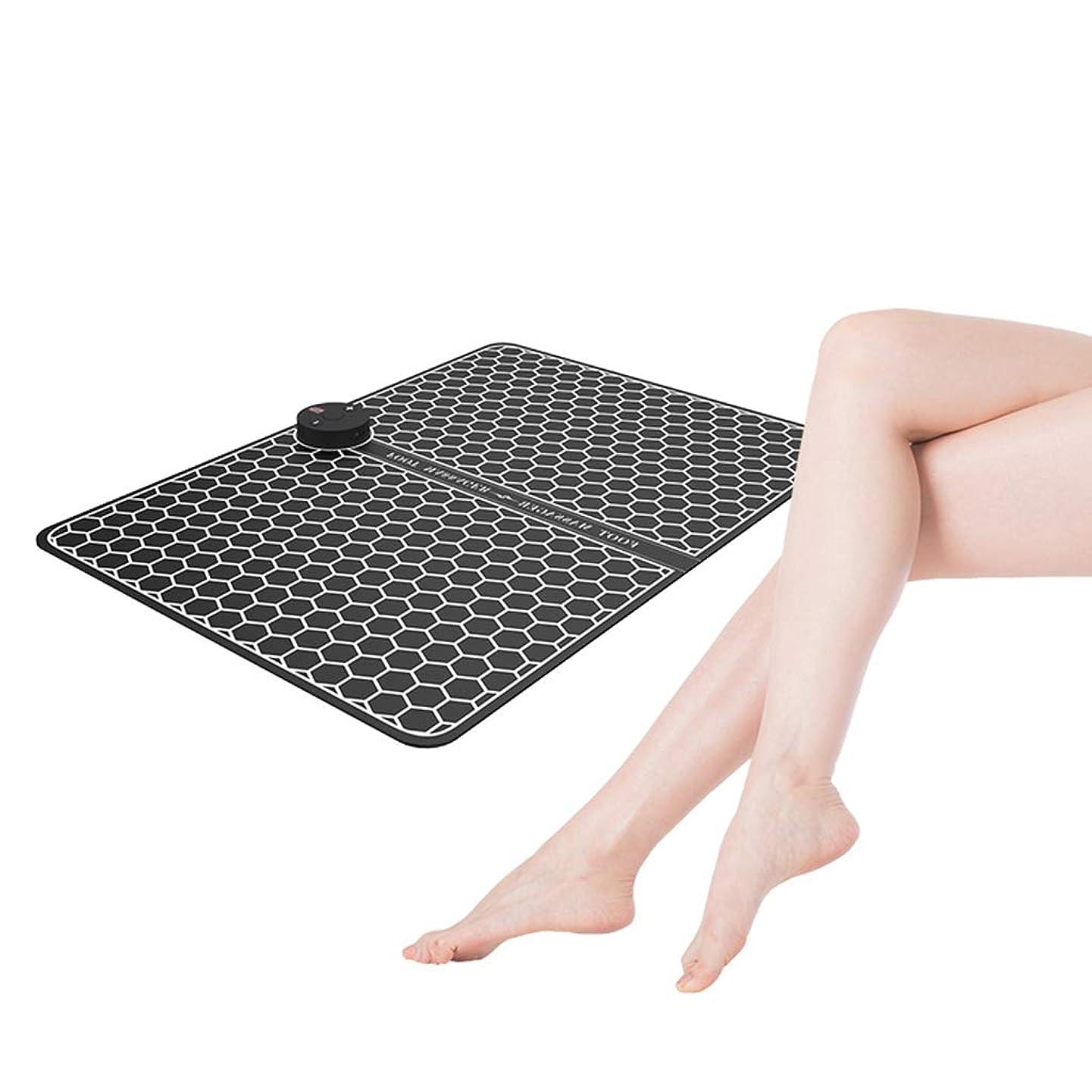 路面電車誤解オフセット理性的な理学療法の脈拍のマッサージャー、電気EMSの足のマッサージャーのABS理学療法の生き返らせるペディキュア10の足のバイブレーター無線フィート筋肉刺激物男女兼用