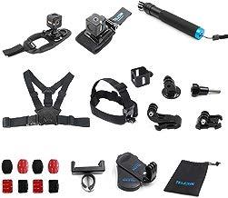 telesin todo en uno Kit de montaje de accesorios para Polaroid Cube y estilo de vida Polaroid CUBE + cámara de acción