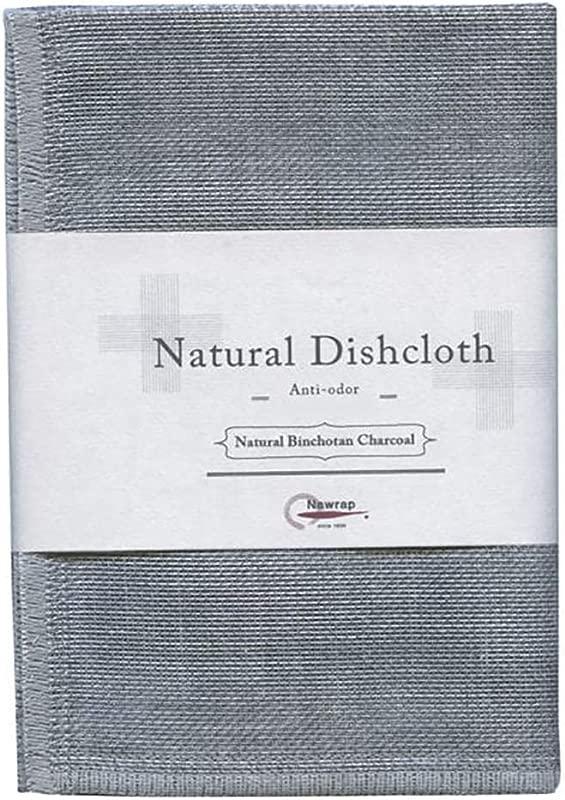 IPPINKA Nawrap Binchotan Dishcloth Naturally Cleansing And Anti Odor