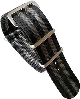 RUIXUAN Heavy Duty Military Style Replacement Seatbelt Nato Watch Band,Seat Belt Weaved Nylon Premium Quality NATO Straps