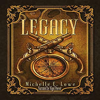 Legacy (Vol.1): Steampunk/Fantasy Novel cover art