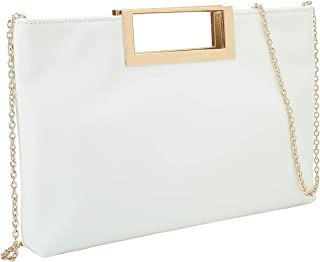 Fashion PU Leather Handbag Stylish Women Convertible Clutch Purse