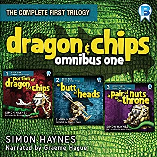 Dragon and Chips: Omnibus One cover art