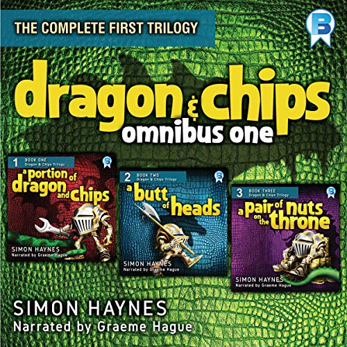 Dragon and Chips: Omnibus One audiobook cover art