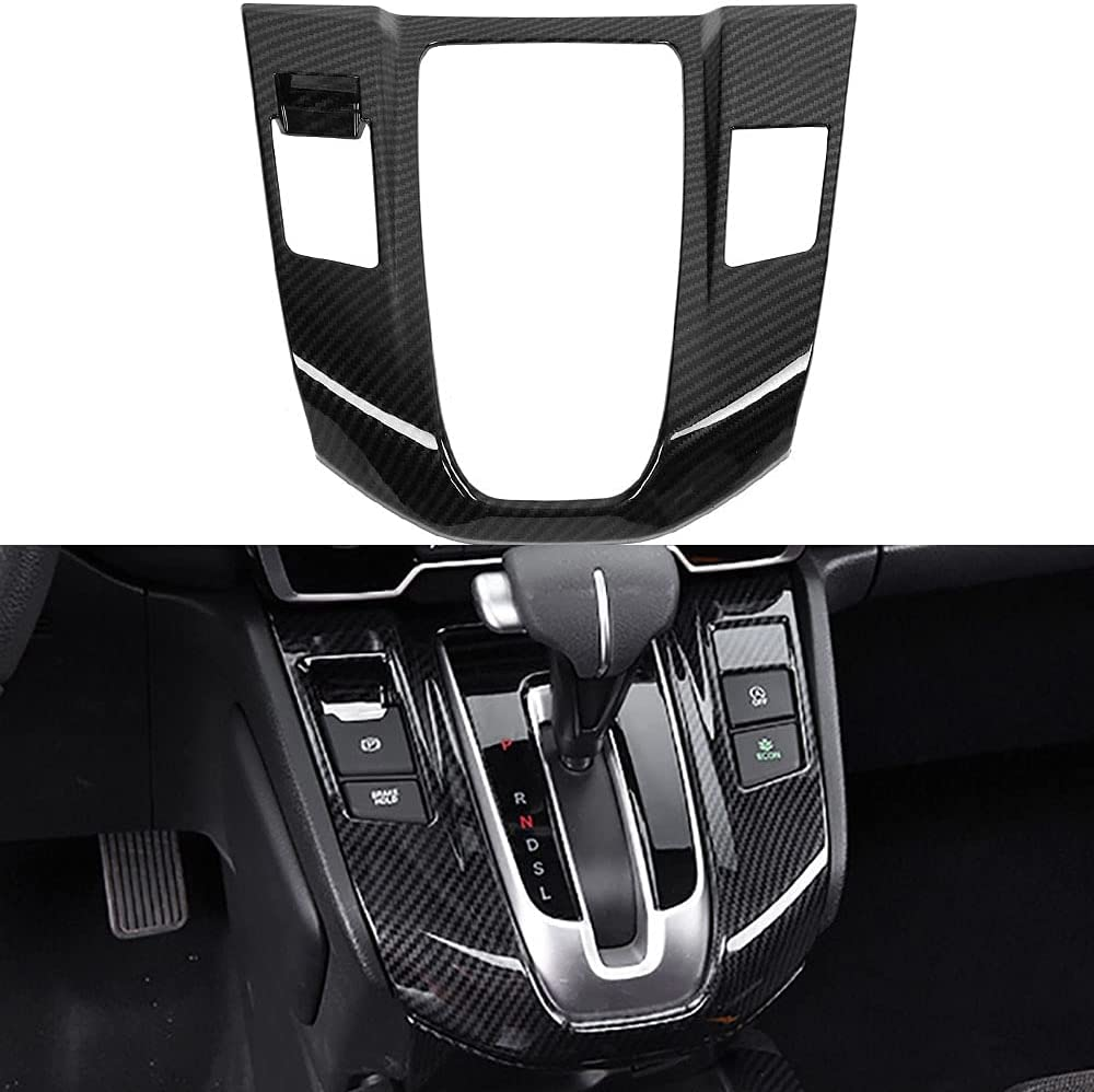 Some reservation LEXLEY Carbon Fiber Style Finally popular brand Gear Shift Console Panel Trims C Frame