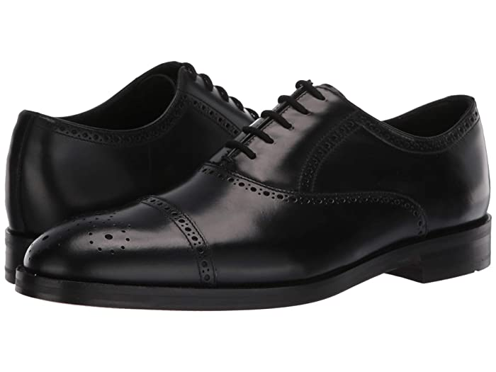 1920s Style Mens Shoes | Peaky Blinders Boots Clarks Oliver Limit Black Leather Mens Shoes $105.00 AT vintagedancer.com