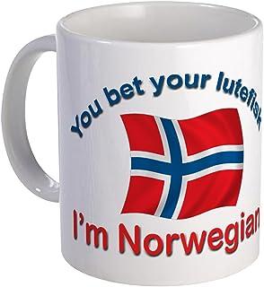 CafePress Norwegian Lutefisk Mug Unique Coffee Mug, Coffee Cup