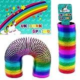 LG Unicorno Molla Elicoidale Arcobaleno 15 x 5 cm