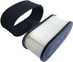 HEYZLASS 11013-0752 11013-0726 Air Filter, for Kawasaki FR651V FR730V FR691V Engine Air Cleaner, Lawn Mower Air Filter, Plus 11013-7046 Pre Filter