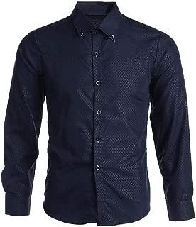 LAVECCHIA Oversize Uomo Camicia Tempo Libero Camicia Plussize 3xl 4xl 5xl 6xl 7xl