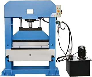 DBM IMPORTS 150 Ton Electric Hydraulic Press Brake Bender V Block Bending Machine 10 mm 3-Phase Pressure