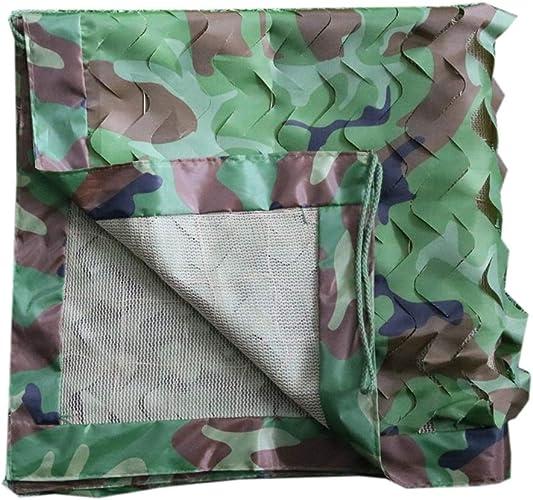 LJJL Filet d'ombrage Filet De Camouflage Dans La Jungle Filet à Trois Couches Filet Pour Balcon Avec Vue Sur La Cour Avec Un Parasol Filet De Camouflage Auvents (Taille   6 × 10 M)