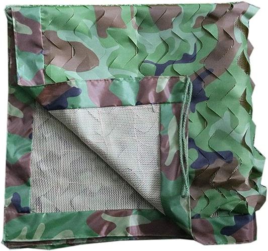 LJJL Filet d'ombrage Filet De Camouflage Dans La Jungle Filet à Trois Couches Filet Pour Balcon Avec Vue Sur La Cour Avec Un Parasol Filet De Camouflage Auvents (Taille   10 × 10 M)