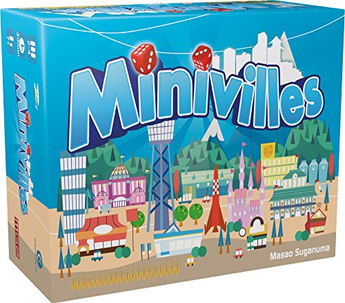 Minivilles - Asmodee - Jeu de société - Jeu de cartes - Jeu de stratégie