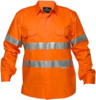 Superb Uniforms Hi-Visibility Work Shirt Full Sleeves