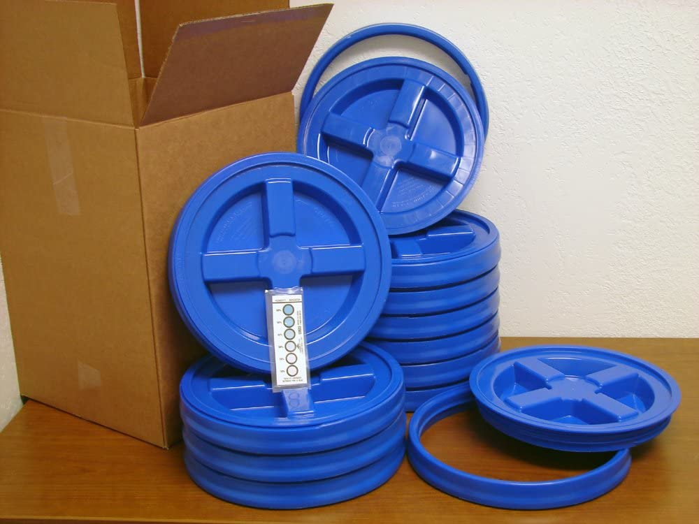 Gamma Seal Lid Blue 12 新作アイテム毎日更新 Pack New Bucket 5 - Gallon 豪華な Boxed