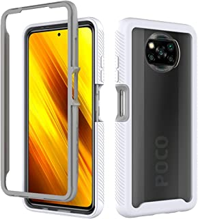 Hicaseer Case for Poco X3 NFC,Ultra-thin PC+TPU Textured Double Soft Shock and Drop Resistant Case for Xiaomi Poco X3 NFC ...