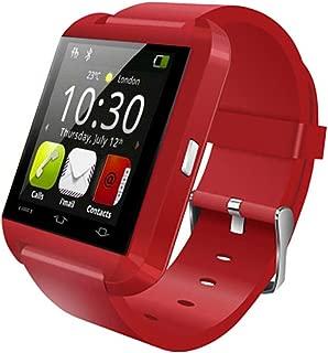 Bluetooth Smart Sports Watch,Touch Screen smartwatch Phone Unlocked Watch Cell Phone Waterproof Pedometer,Men Women Kids Boys Wristwatch-C