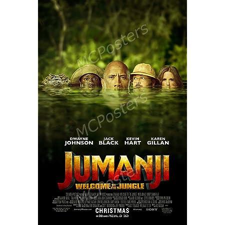 Jumanji The Next Level Movie Poster 24 x 36 Inches USA Shipped Print