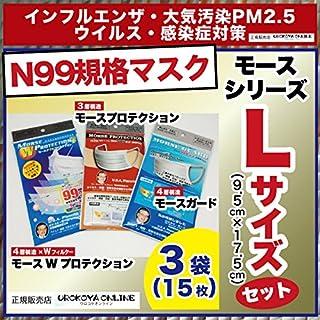 N99高機能マスク「モースシリーズ」レギュラーサイズお試しセット
