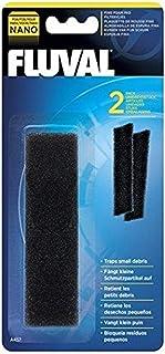 Fluval Nano Aquarium Filter Fine Foam Pad, Pack of 2