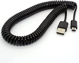 coiled usb cable keyboard